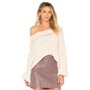 Free People Pandora Boatneck Sweater XS